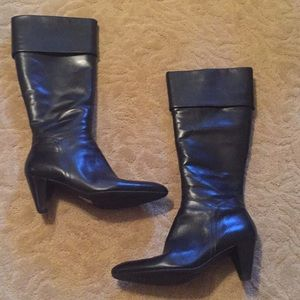 a32a596c817 Ecco Leather Boots